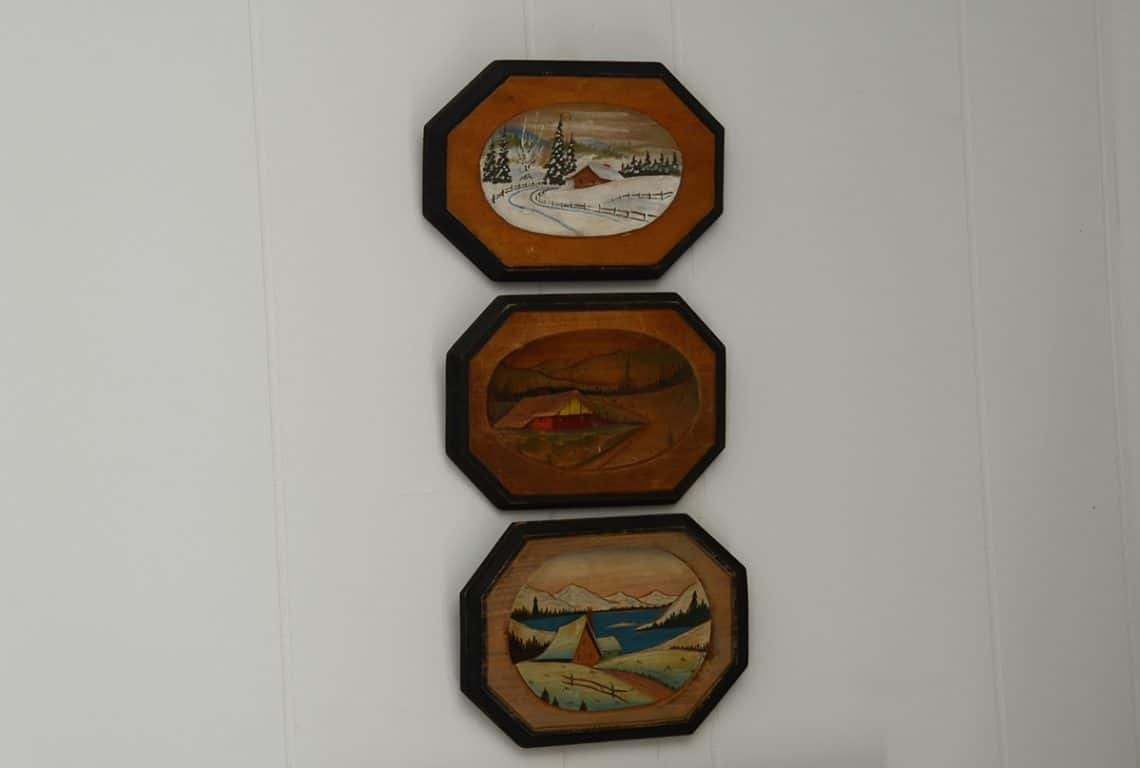 Vintage Wall Plaques
