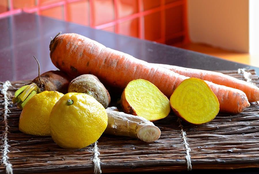 Golden Beet Carrot Juice