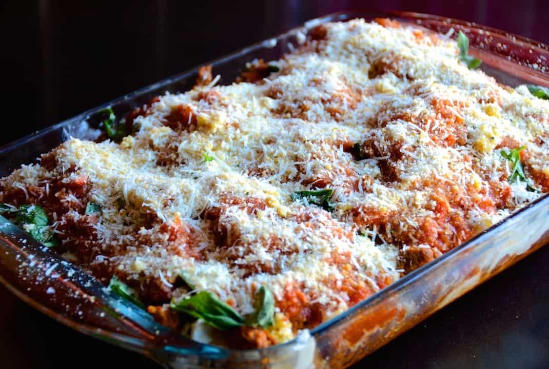 Chicken Parmesan Casserole With Chorizo