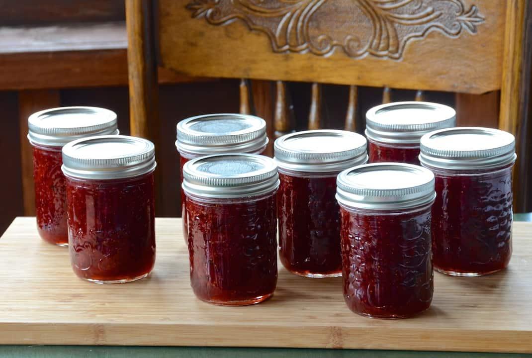 Late-Season Strawberry Jam