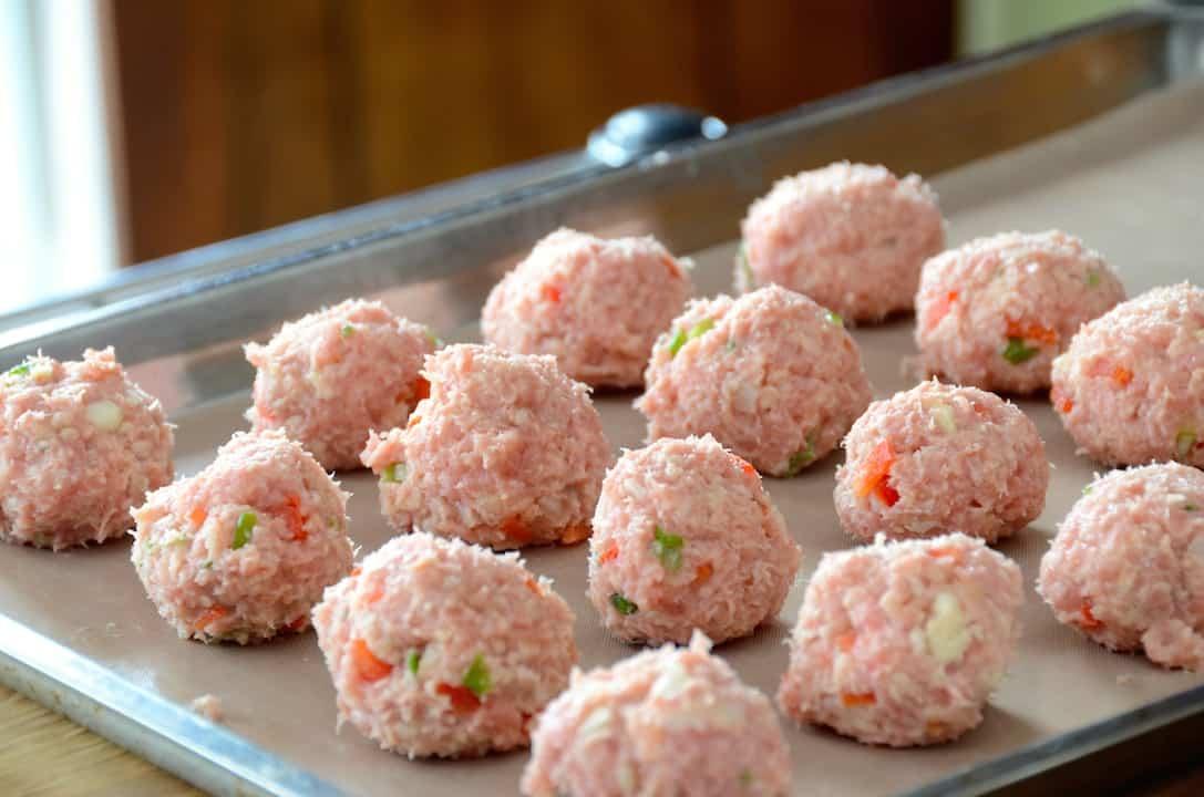 Asian-Style Meatballs