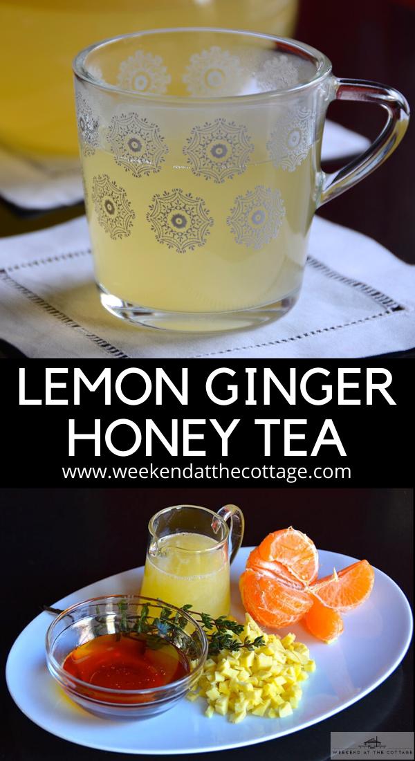 Lemon Ginger Honey Tea