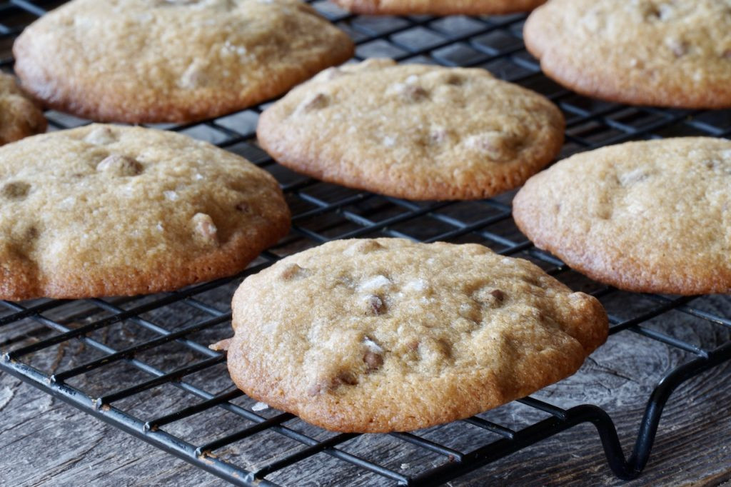 Chocolate Chip Cookies freshly baked