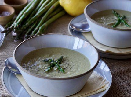Cream of Asparagus Soup