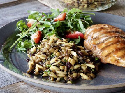 Wild Rice and Orzo Salad