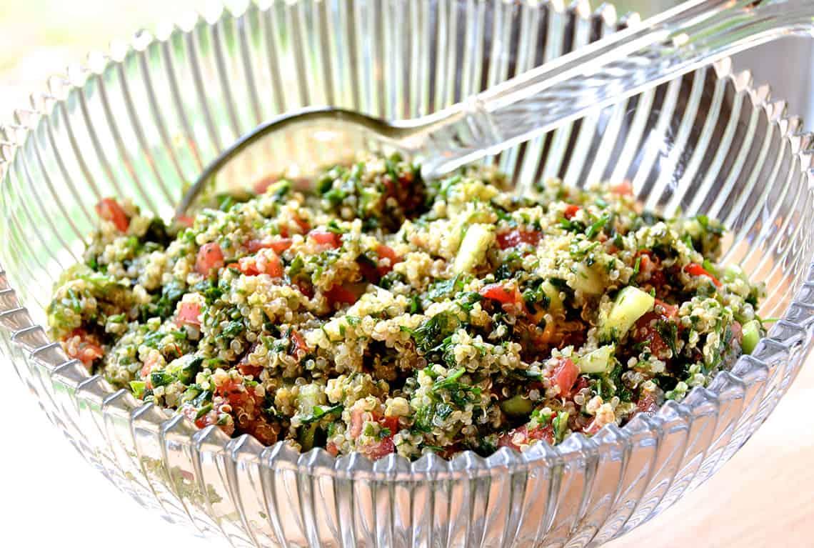 Quinoa Tabouli Tabbouleh