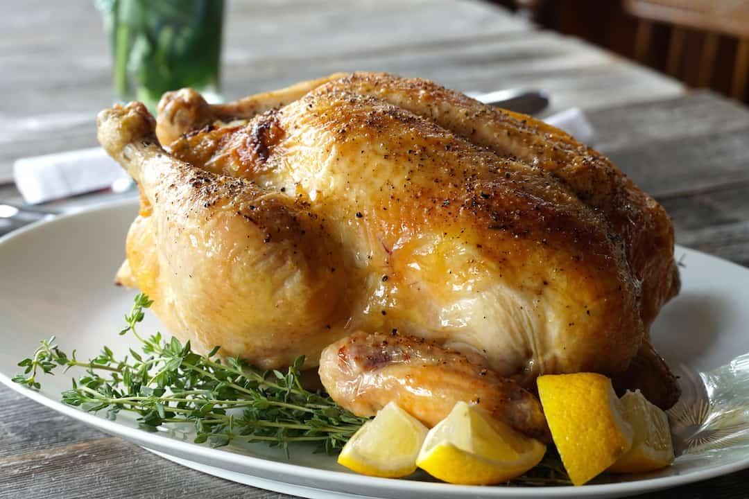 Easy Roast Chicken