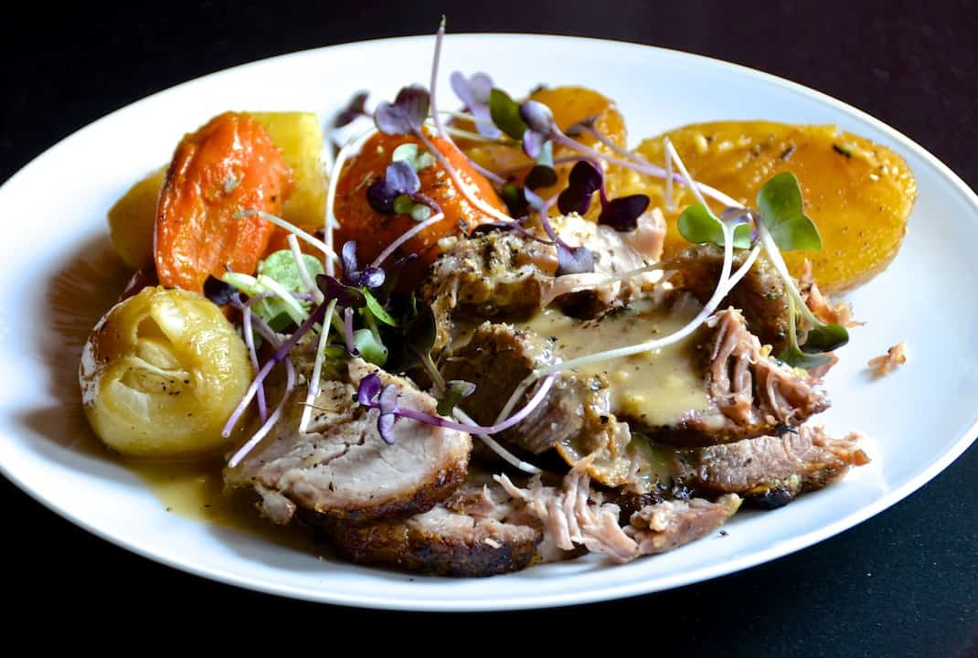 Pork Roast With Vegetables