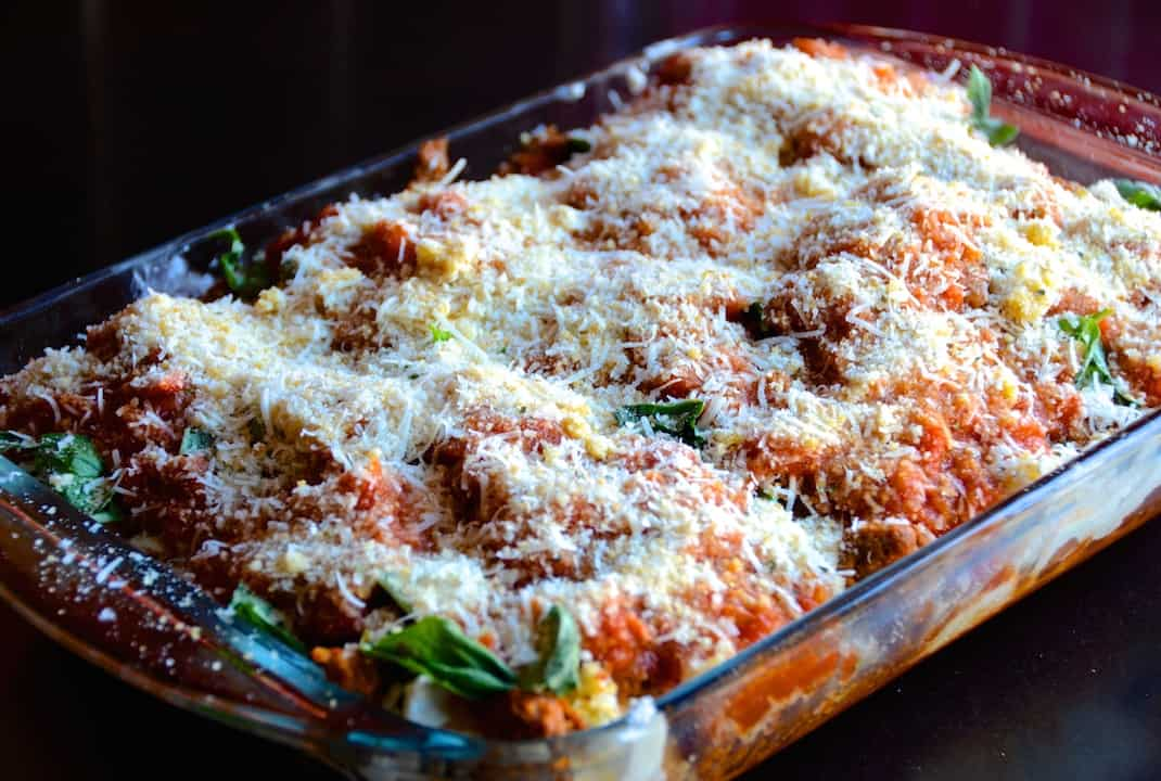 Chicken Parmesan Casserole With Chorizo