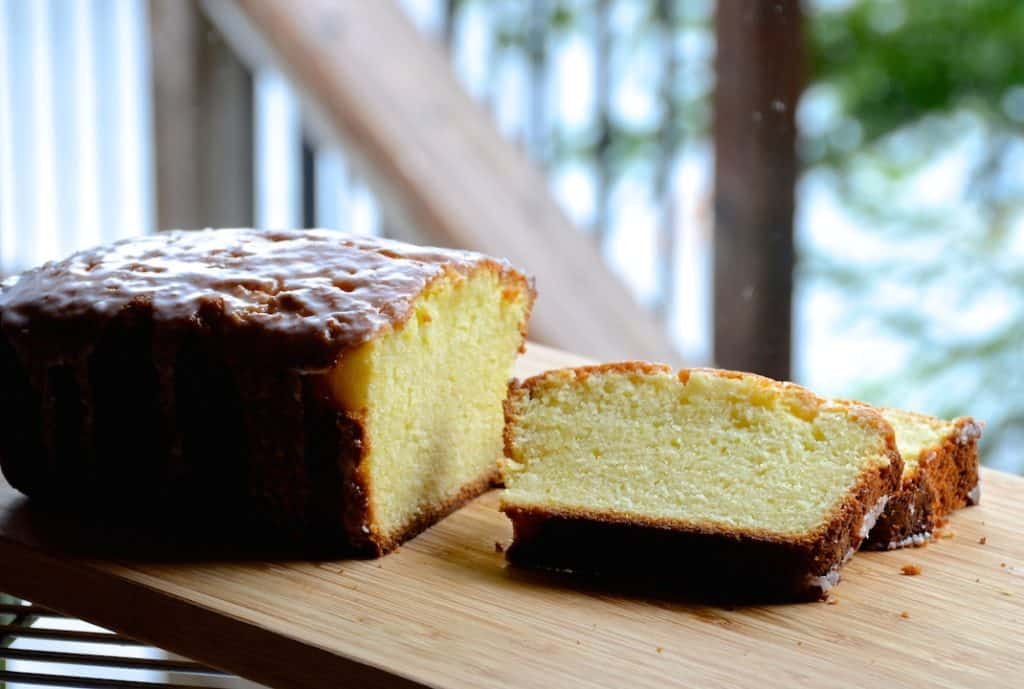 Moist Lemon Ricotta Pound Cake