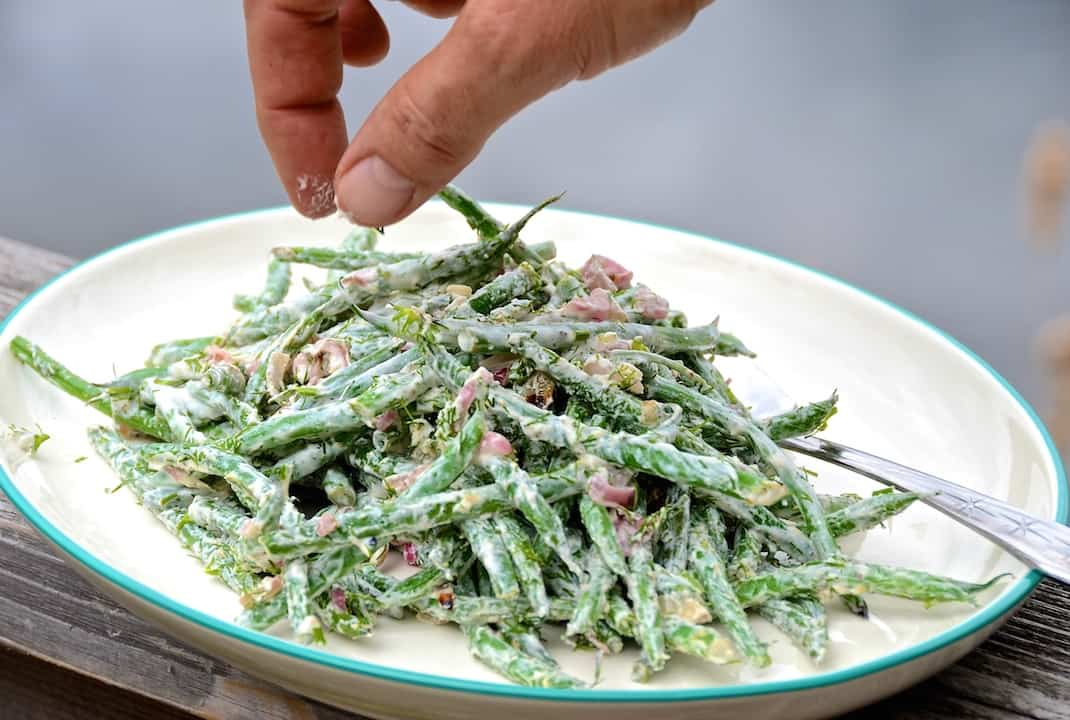 Barbecued Green Beans