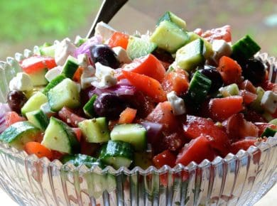 Our Best Greek Salad