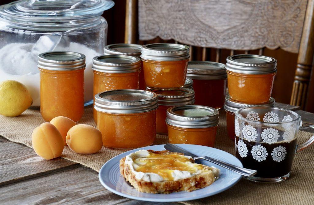 The best homemade apricot jam