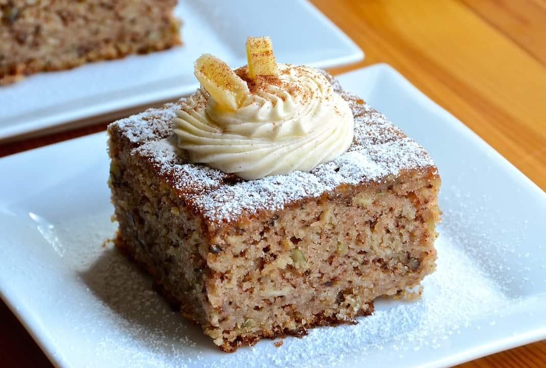 Spiced Parsnip Cake Vegan