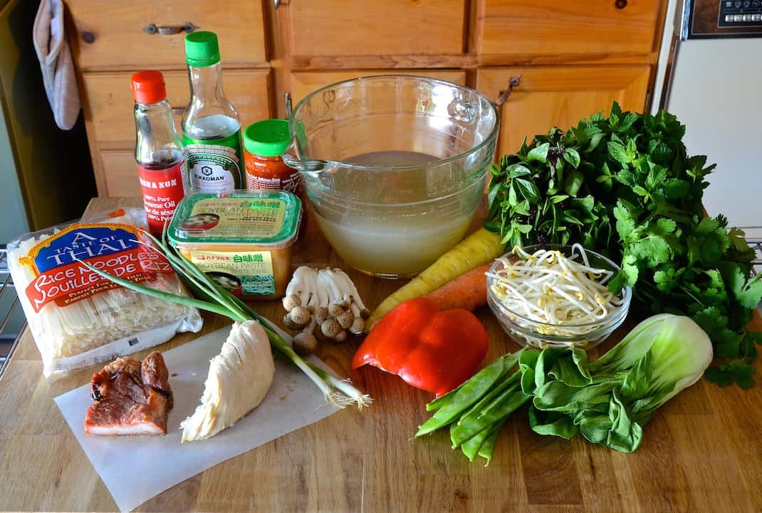 Asian Noodle Soup Phở