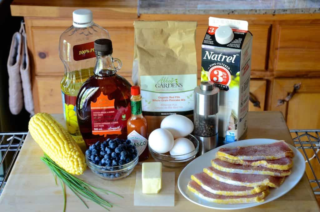 Ingredients for the Great Canadian Breakfast