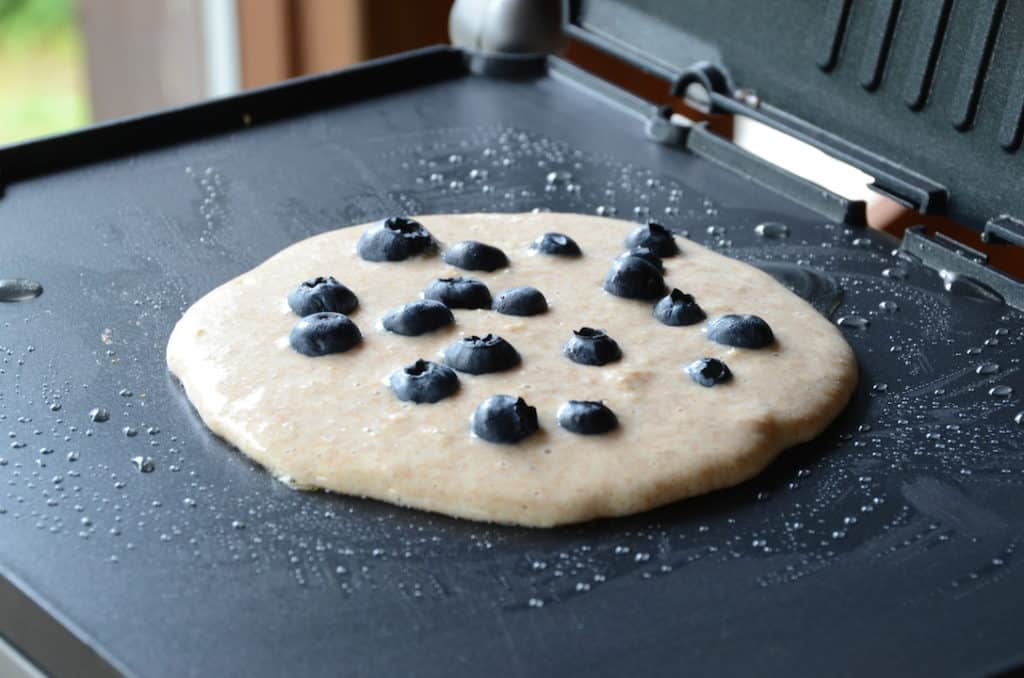 One of many flavour-enhanced pancakes