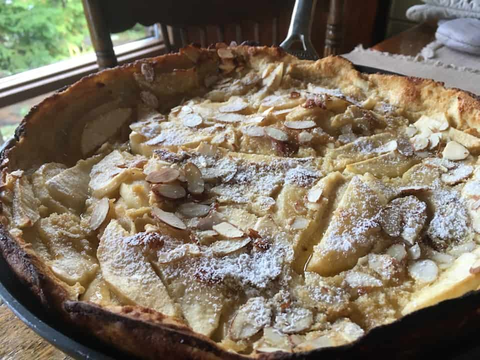 Swiss Apple Pancake