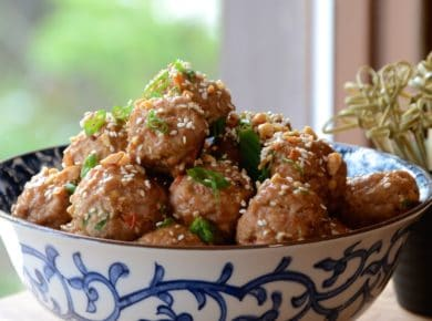Asian Meatball Recipe