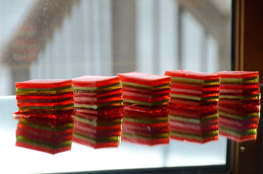 12-Layer Jell-O Salad