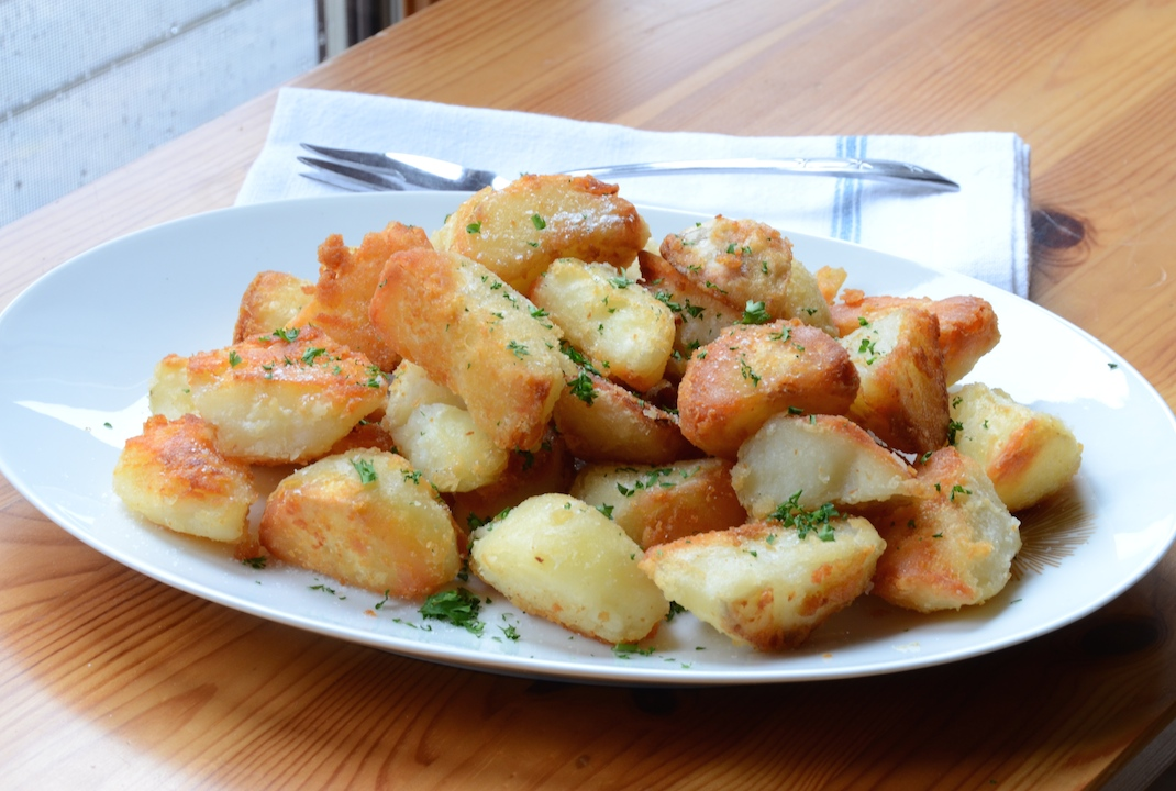 Goose Fat Roasted Potatoes