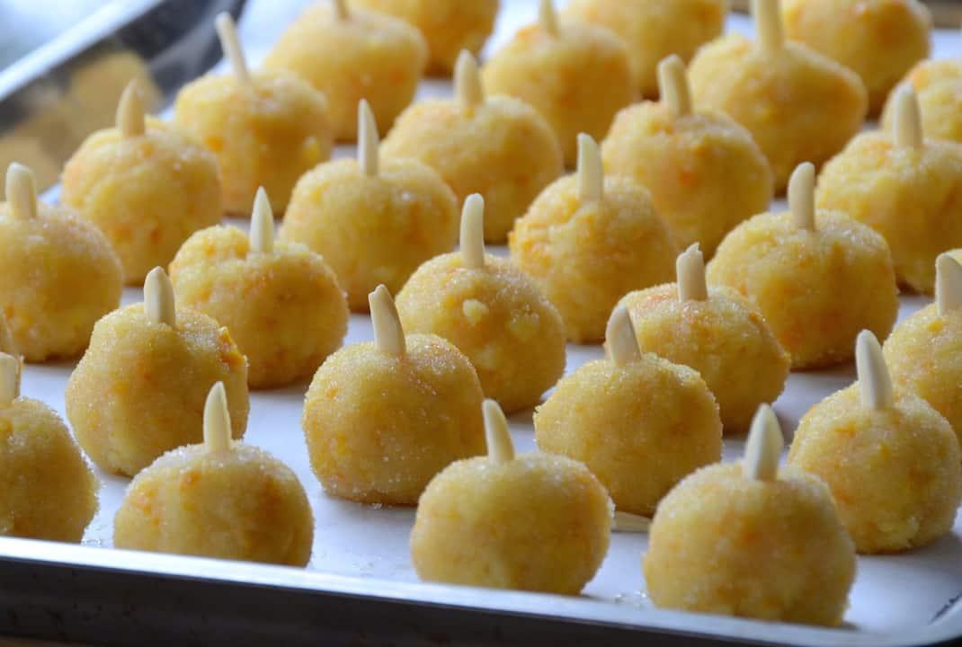 Orange Almond Balls