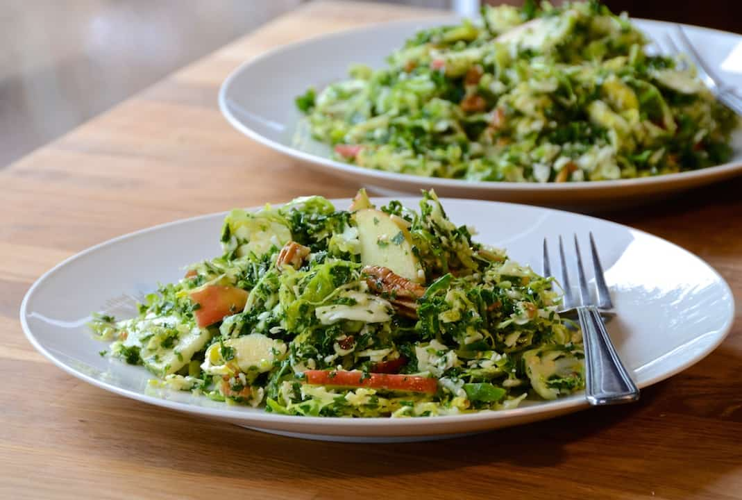 Healthy Chopped Salad with Kale