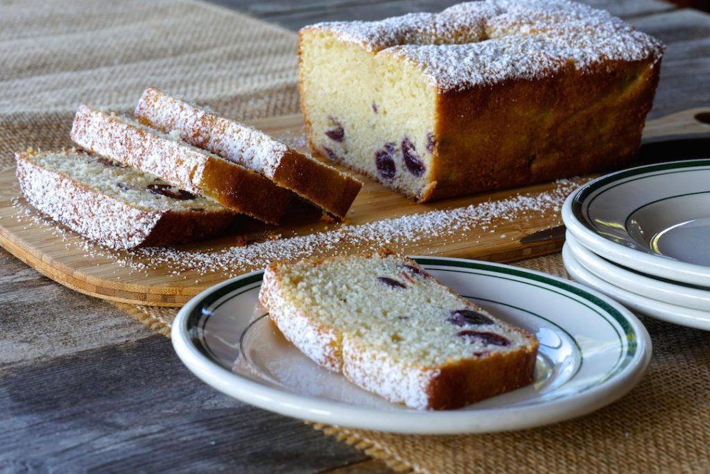 Maraschino Cherry Pound Cake