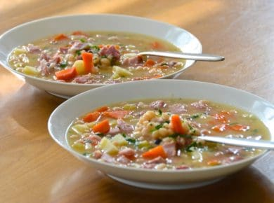 Navy Bean Soup With Ham