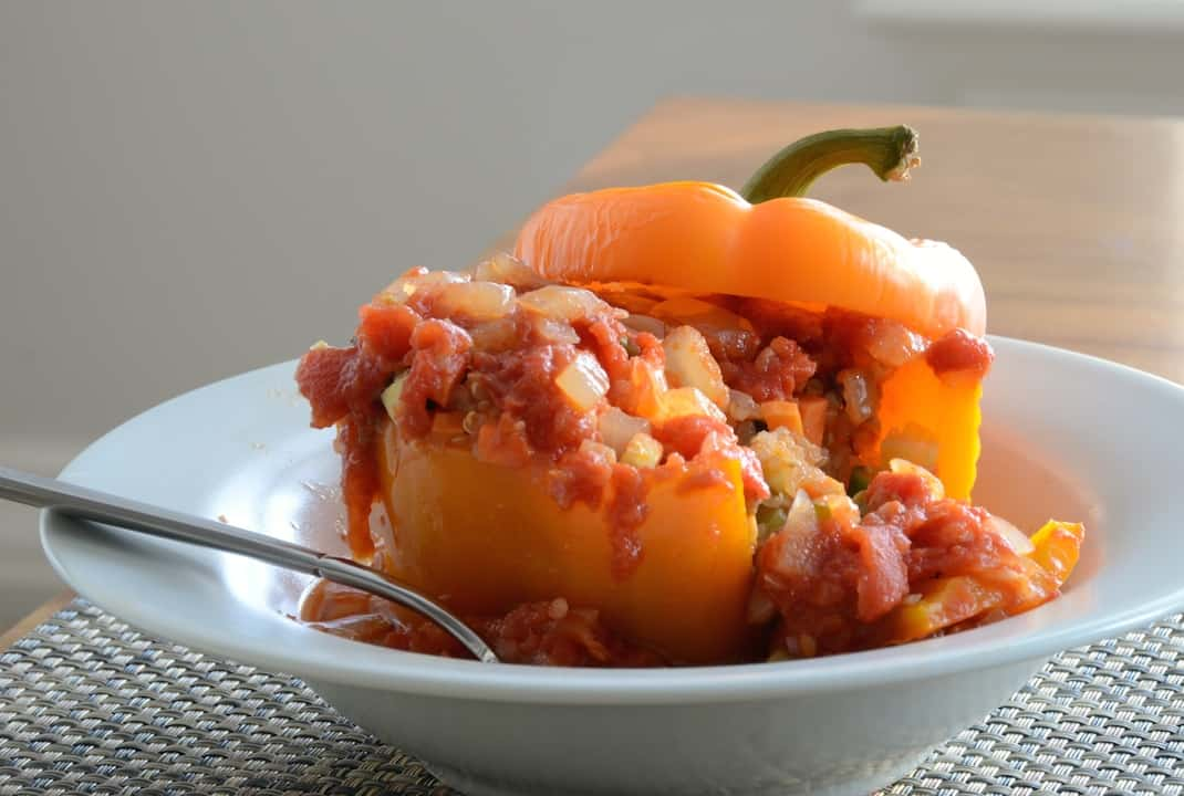 Vegetarian Stuffed Peppers – Vegan & Gluten-Free