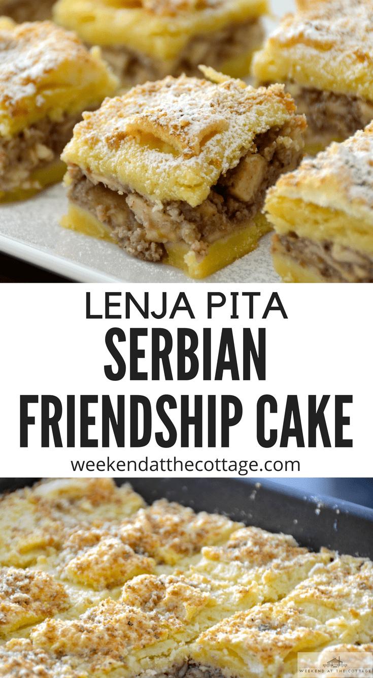 Lazy Apple Cake – Lenja Pita