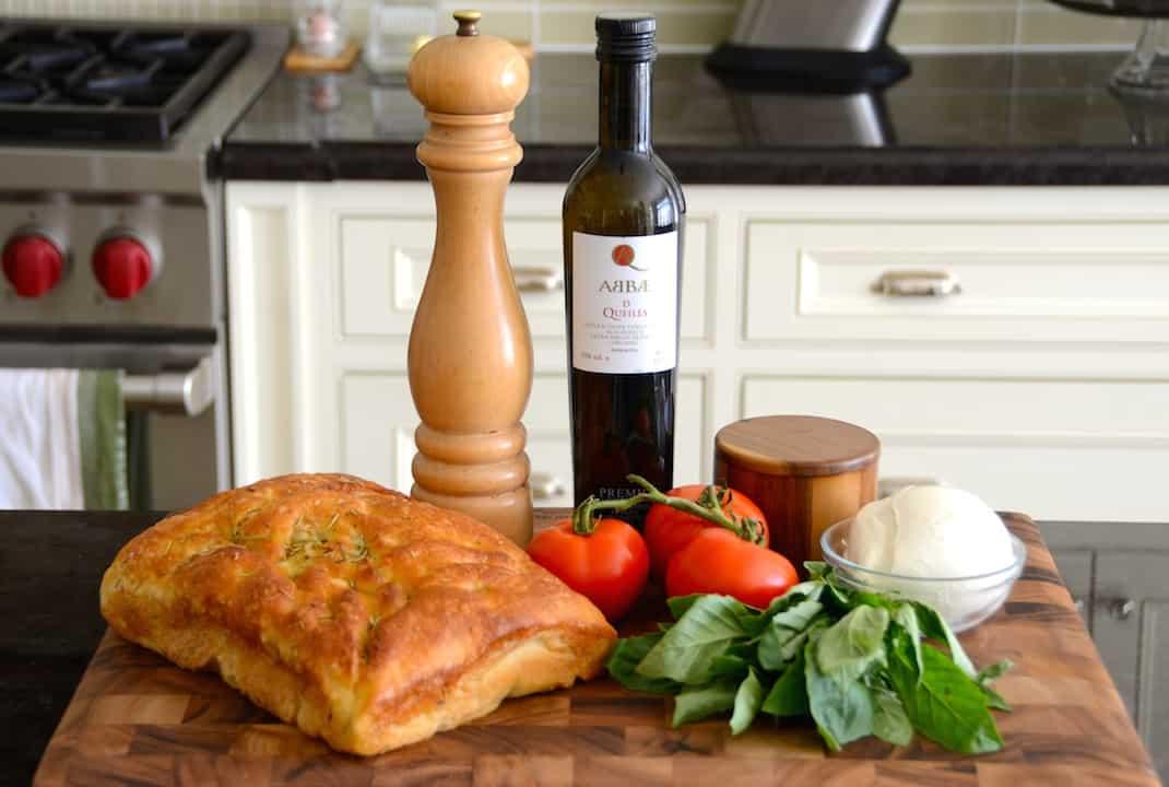 Grilled Panini Caprese