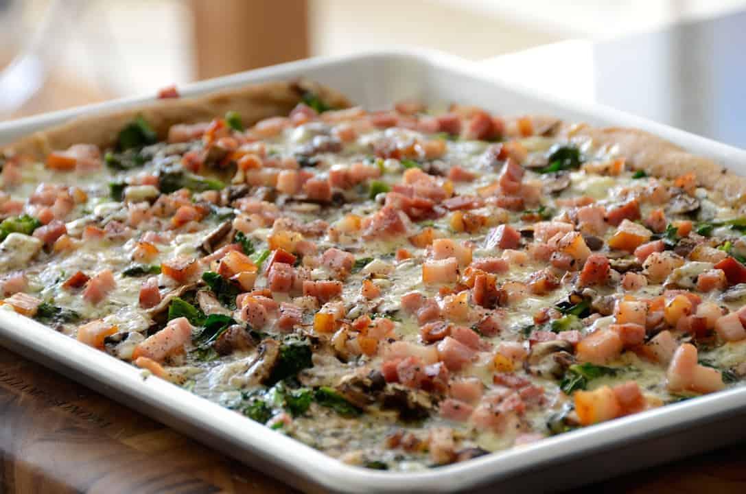 Gourmet Sheet Pan Pizza