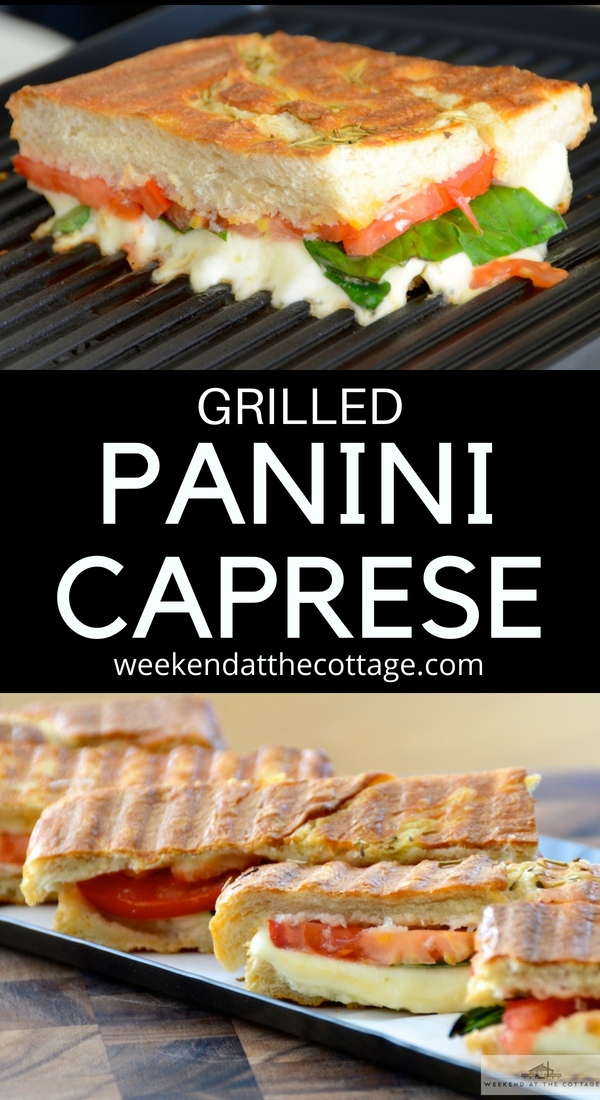 Grilled Caprese Panini