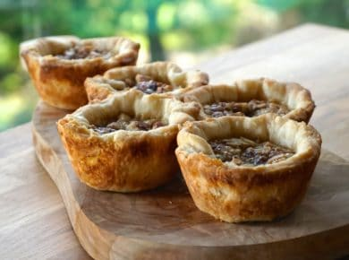 old-fashioned butter tarts