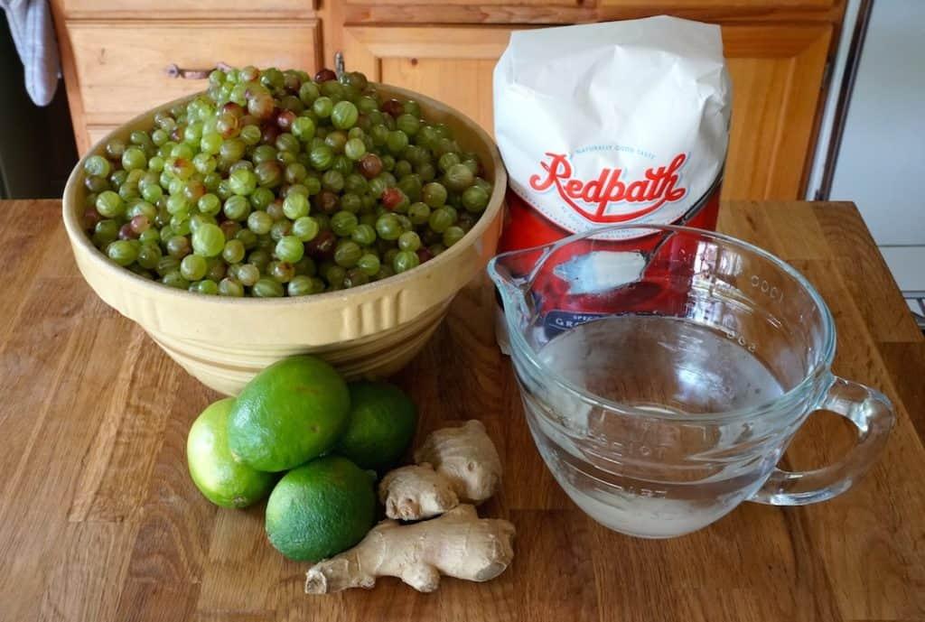 Ingredients Homemade Gooseberry Jam