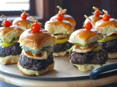 Colossal Mini Lamb Burgers