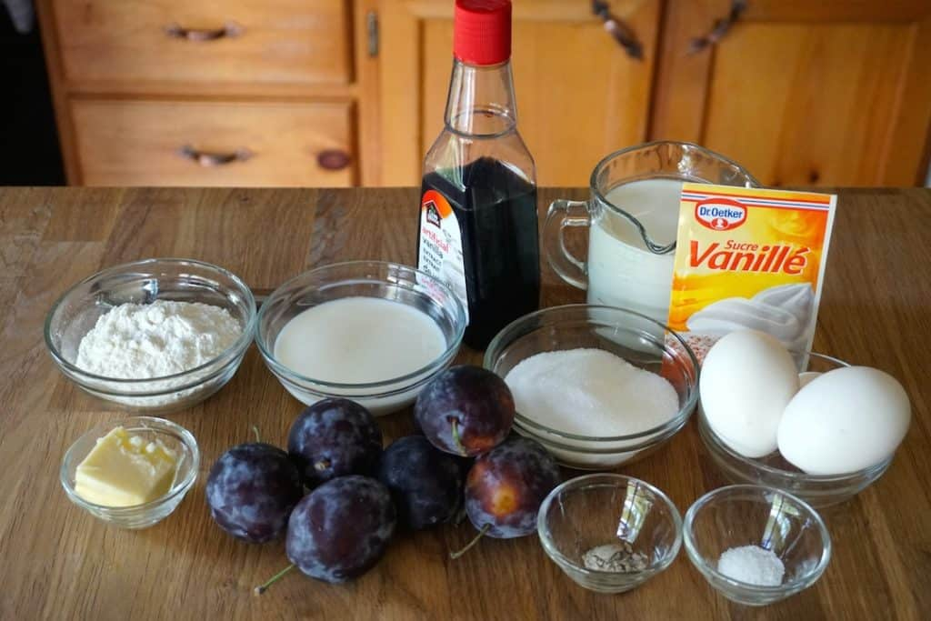Ingredients for Easy Plus Clafoutis