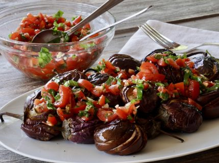Grilled Eggplant Side Dish