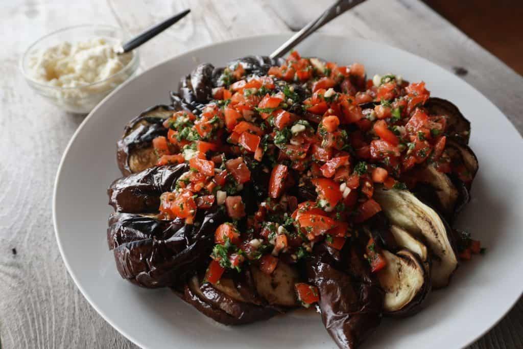 Grilled Eggplant Side Dish