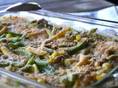 Vegetarian Bean Casserole