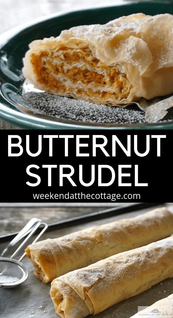 Butternut Squash Strudel