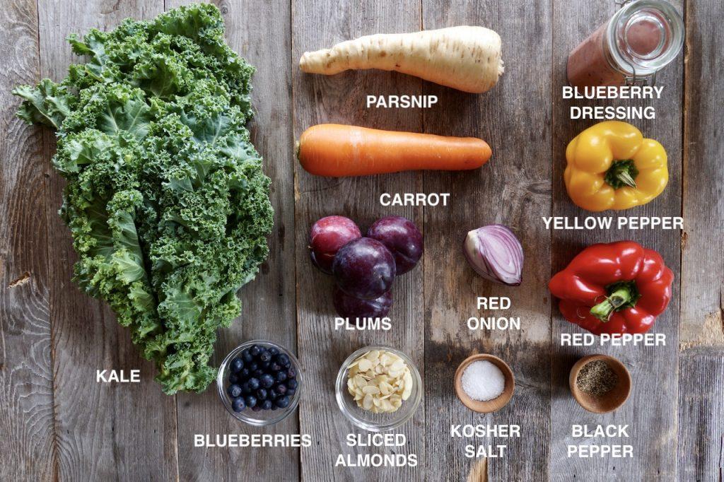 Ingredients for Fall Harvest Salad