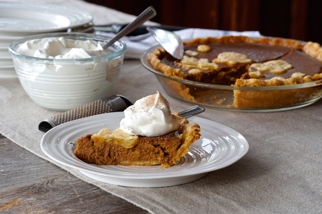 Spiced Pumpkin Pie