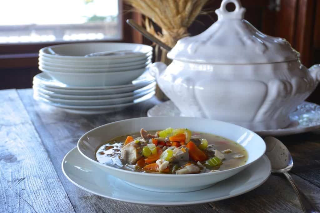 Leftover Turkey Soup Recipe