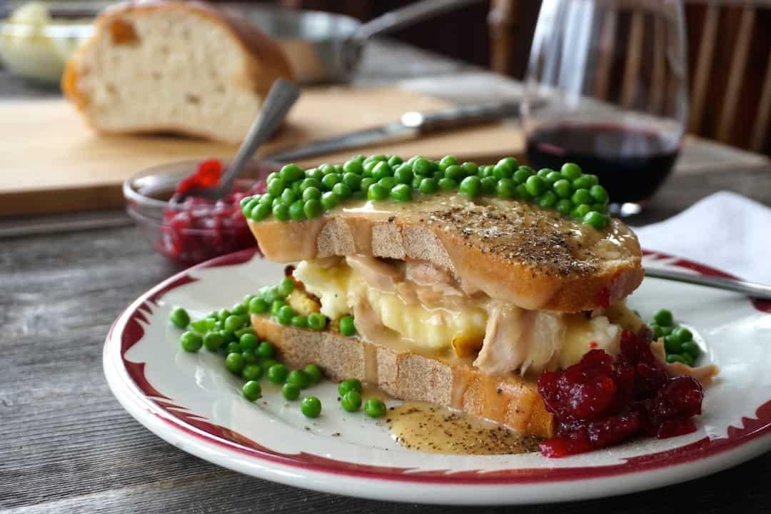 Hot Turkey Sandwiches