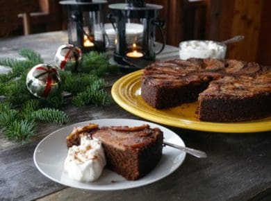 Gingerbread Upside-Down Cake