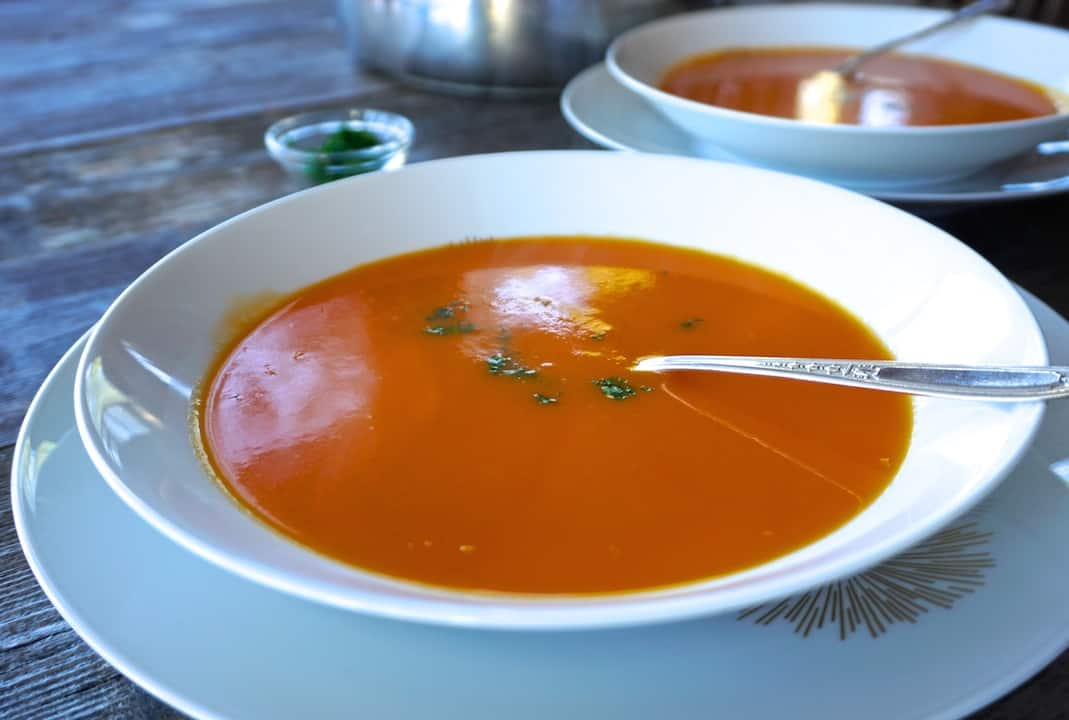 Tangy Carrot Orange Soup