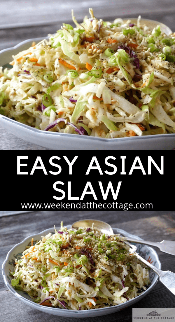 Easy Asian Slaw