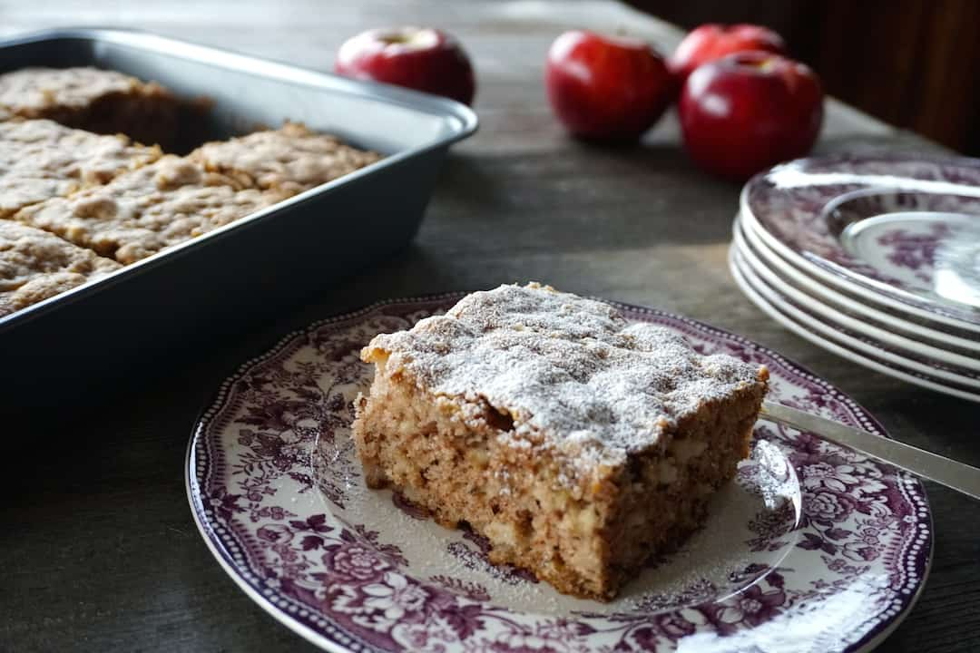 Oma's Apple Cake Recipe